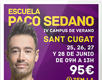 Posters for Escuela Paco Sedano