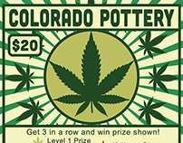 Pottery Ticket Design for The Pottery LLC, 2014