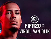 FIFA 2020 Cover Athletes key art
