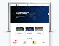 Polski Związek Badmintona website