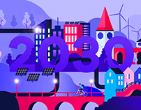 A branding for Climate route 2030