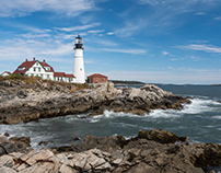 Traveling up the Maine Coast. Part 1