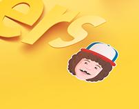 Google Allo: Strange Stickers
