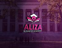 aliza logo design
