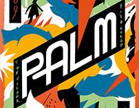 Palm gig poster