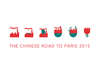 The Chinese Road to Paris 2015 || Infographic