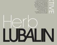 Herb Lubalin Poster