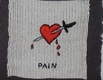 Love, Pain, Opium triptych