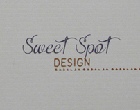 Sweet Spot Design branding