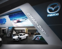 Mazda Automech booth 2015