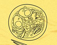 Doodled Noodles