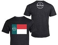 Mason Jar Lager Company T-Shirt Design