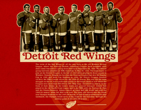 Vintage Red Wings Posters