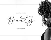 Beauty Scipt Font by besttypeco