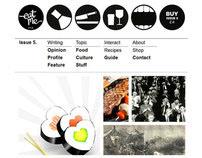 eatMe magazine web-site