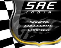 SAE INDIA Manipal logo