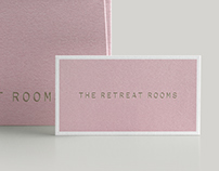 The Retreat Rooms Identity
