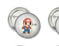 """1"""" Pixel-Art Buttons"""