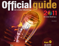 ICC Cricket World Cup Official Guide Magazine 2011