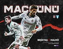 Beşiktaş JK Matchday Designs'18 #2