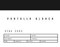 Branding. Pantalla Blanca.