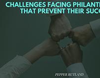 Challenges Facing Philanthropies that Prevent Success