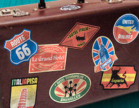 Vintage Travel Stickers - Part 2