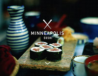 Microsite: Minneapolis Sushi