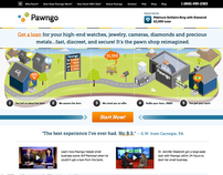 Online Pawn Shop / UX Strategy + IA + User Research