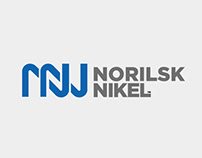 Norilsk Nikel logo & type™ 2015. Self Initiated Project