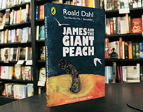 James and the Giant Peach: Book Cover