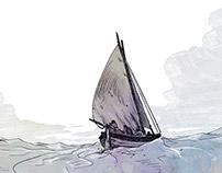 Illustrations pour le magazine Chasse marée