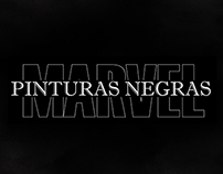 Marvel - Pinturas Negras