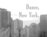 Dance, New York.