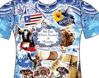 Camisas Escolas de Samba Rio de Janeiro - Carnaval 2012