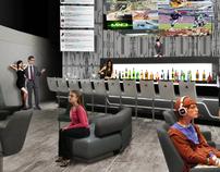 Casino Game Lounge Interior