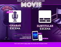 MovieMashup 2 - Grabar Escena en vivo