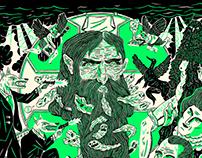 Sorgin Gaua 2017 poster (Rasputin)