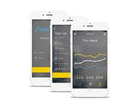 //meridian iOS app concept