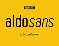 ALDO SANS - FREE MODERN CONDENSED FONT FAMILY
