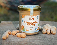 TOM Natural Peanut Butter (Cinemagraphs)