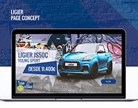 Ligier UI Design