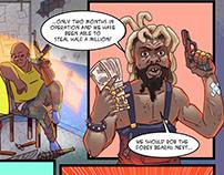 Comic on violent extremism