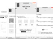 Divisions Web Design