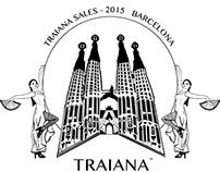 Traiana T-shirt Barcelona 2015