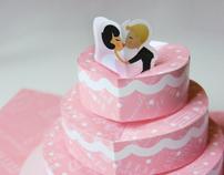 Pop-up Wedding Card