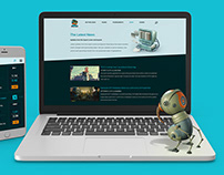 Geeks Webdesign and 3D illustrations