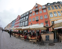 The streets of Nyhavn