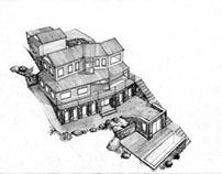 3D Architectural: Castle Rock West Perspective