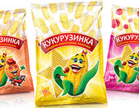 Сorn sticks package design